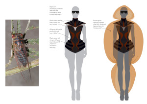 cicada corset