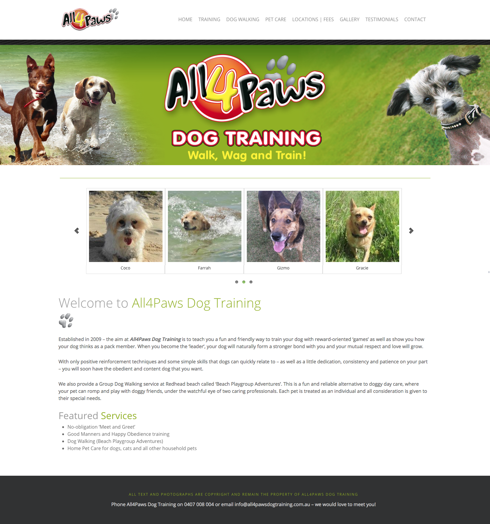 www.all4pawsdogtraining.com.au